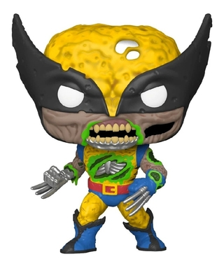 Funko Pop Marvel Zombies Wolverine Glows In The Dark 662