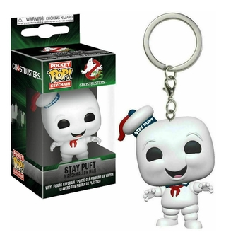 Chaveiro Funko Pop Ghostbusters Stay Puft Marshmallow Man