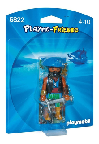Playmobil Playmo-friends Pirata Do Caribe Sunny 6822