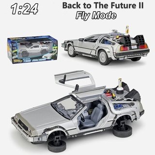 De Volta Para O Futuro Back The Future 2 Delorean Welly 1/24