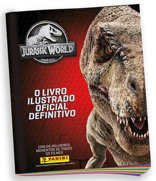 Álbum Jurassic World 2020 Panini - BRINDE