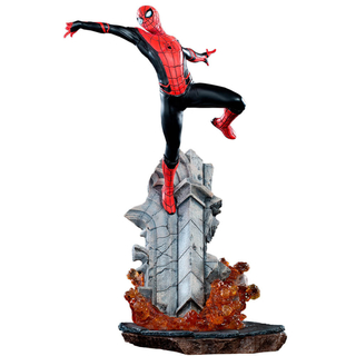Estátua Spider-man BDS 1/10 Far From Home Iron Studios