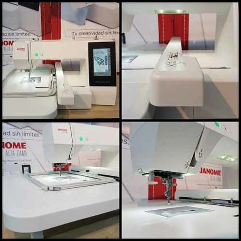 Janome Mc 500e + Software + Portaconos 5h New