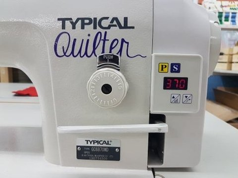 Nueva Maquina De Quilting Typical Quilter / Patchwork 1/4  P