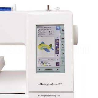 Janome Mc 400e Area 200x200mm en internet
