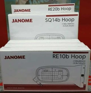 Bastidor Hoop Re10b 100x40mm Janome 500e en internet