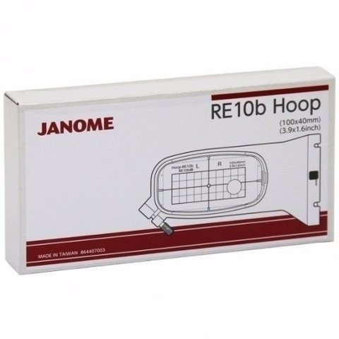 Bastidor Hoop Re10b 100x40mm Janome 500e