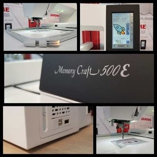 Janome Mc 500e + Software + Portaconos 5h New en internet