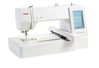 Bordadora Janome Mc 400e De 200x200mm + Software Perla 8800 en internet