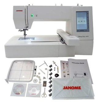 Janome Mc 400e Area 200x200mm - comprar online