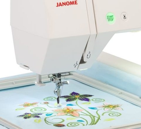 Bordadora Janome Mc 400e Area 200x200mm 2019