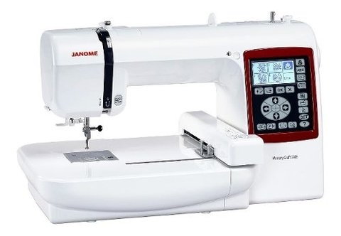 Bordadora Janome 230e 14x14cm Usb + Software