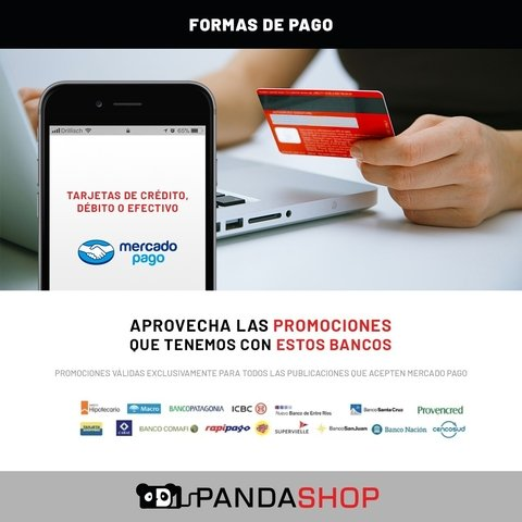 Modulo Pantalla Repuesto Display Vidrio Tactil iPhone 7 Plus - Pandashop