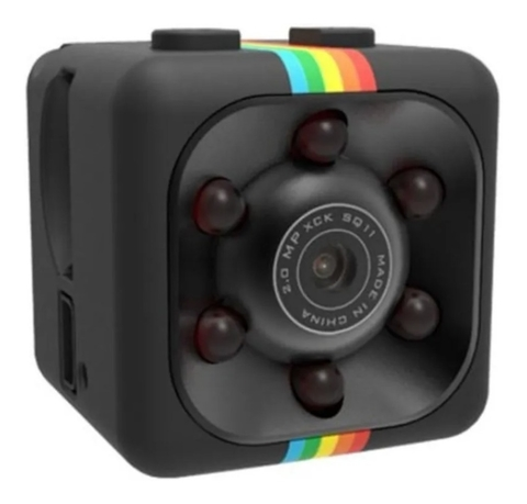 Mini Camara Espia Oculta Full Hd 1080p Night Vision Sq11