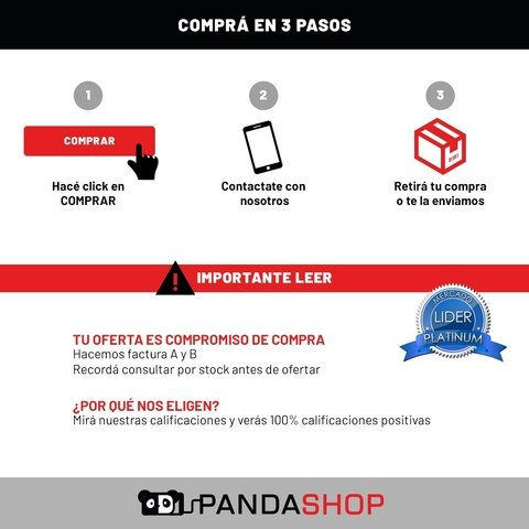 Modulo Pantalla Repuesto Display Vidrio Touch iPhone 6 - Pandashop