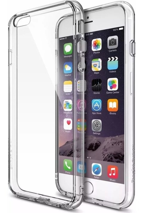 Imagen de Funda Anti Shock Ringke Fusion ® iPhone 5s 6s 7 8 Plus X Xs