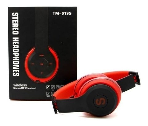 Auricular Bluetooth Inalambrico Radio Fm Sd Mp3 Tm-019s - Pandashop