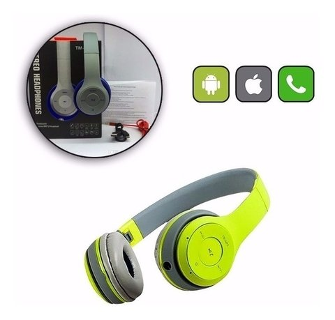 Auricular Bluetooth Inalambrico Radio Fm Sd Mp3 Tm-019s en internet