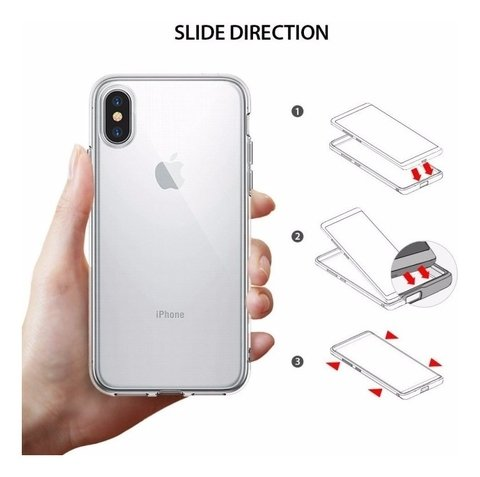 Funda Ringke Fusion ® Original iPhone X Xs 10 + Templado en internet