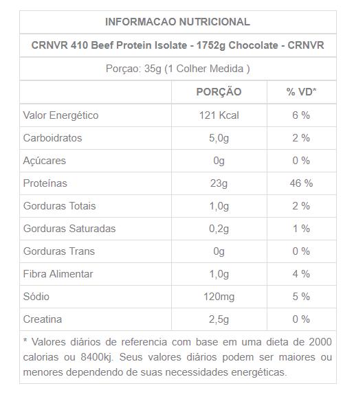 Resultado de imagem para 410 Beef Protein 1.93 lbs - CRNVR