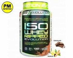 Iso Whey Ripped Evolution Proteina Isolada Quemador Star Nut