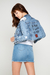Campera Mom light blue custom en internet