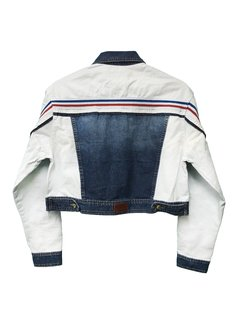 Campera Denim and white en internet