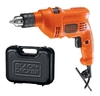 Taladro Percutor Tm500k Black + Decker 10mm Con Maletín