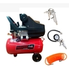 Compresor De 25 Litros 2.5hp Black Panther Bp-c2025+ Kit - comprar online