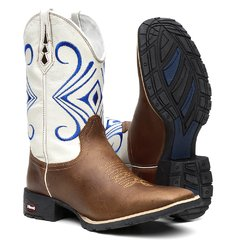 Bota Texana Masculina Blue Eye na internet