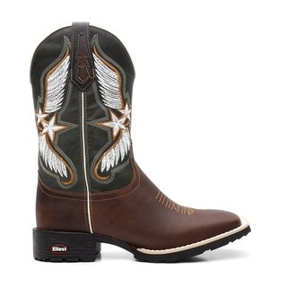 Bota Texana Masculina Star Wings