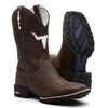 Combo Bota Texana Boi Branco + Camiseta Country The Duel - loja online