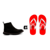Combo Botina Country Blackout + Chinelo Country Pistol - comprar online