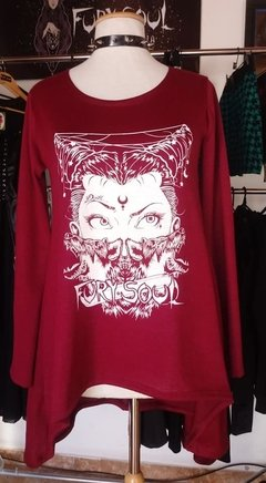 SWEATER REMERON LOBA BORDO