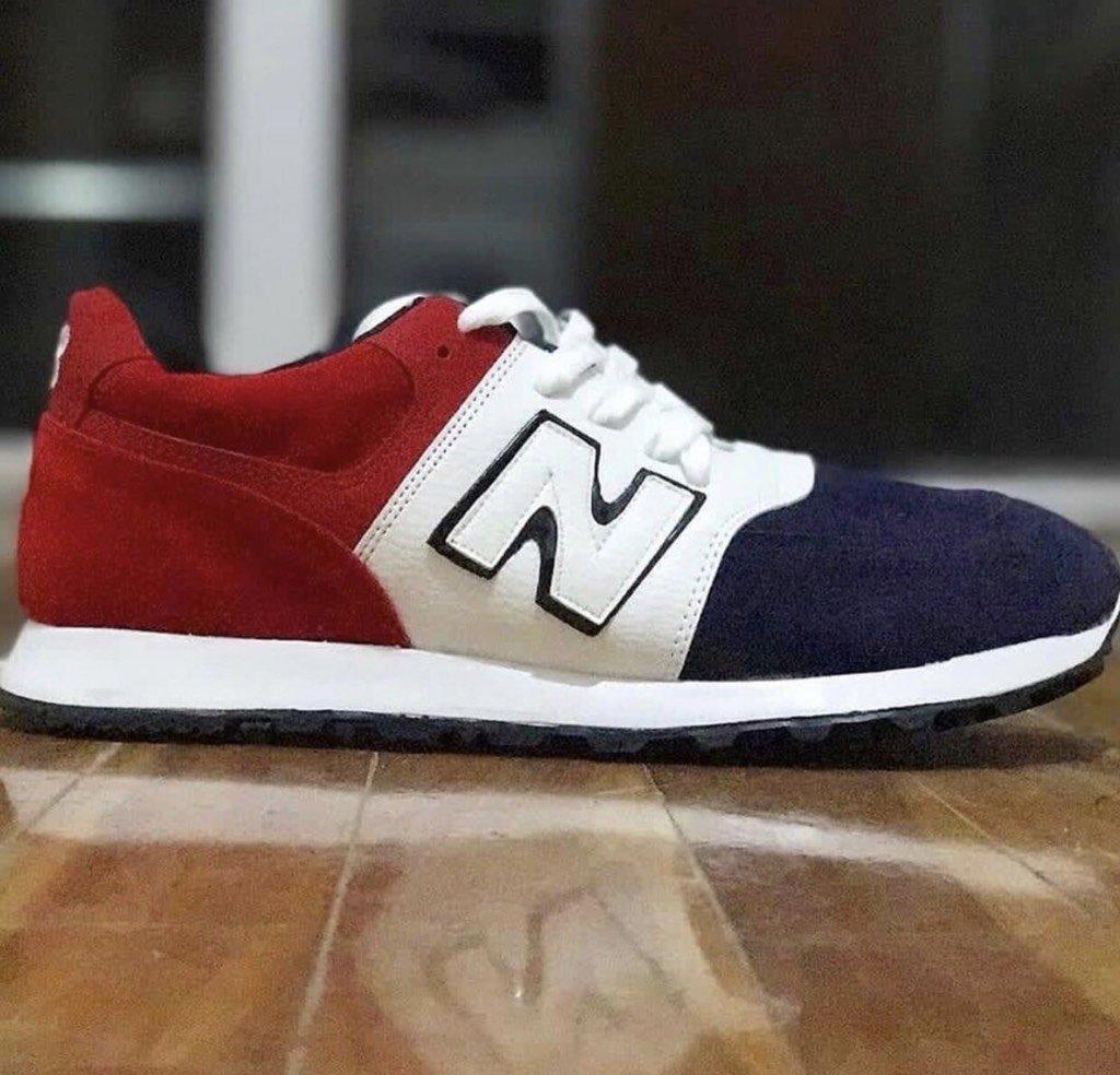new balance roja y blanca
