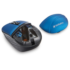 Mouse Inalambrico Verbatim Mini Travel 1000 Dpi 2.4 Ghz Usb en internet