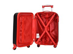 Valija De Viaje Carry On Wilson Color Roja C/ Cerradura Fija - Tendex
