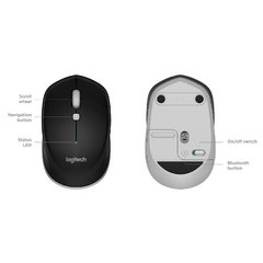 Mouse Inalambrico Bluetooth Logitech M535 Negro - comprar online