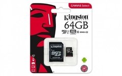 Memoria Micro Sd Xc 64gb Kingston Clase 10 80mb/s Original - Tendex