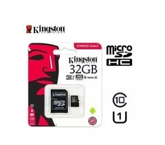 Memoria Micro Sd 32gb Kingston Clase 10  80mb/s - Tendex