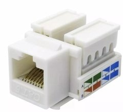 Jack Rj45 Hembra Categoria 6 Ficha Conectores Red Utp en internet