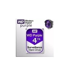 Disco Rigido Wd 4tb Sata 6 Gb Purple 64mb Vigilancia en internet