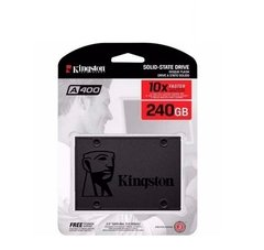Ssd Disco Solido 240 Gb Kingston A400  Sata 3 - comprar online