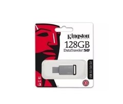 Pendrive Kingston 128gb Dt50 Usb 3.0 Pendrive Más Rápidos