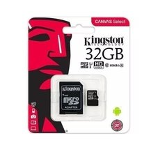 Memoria Micro Sd 32gb Kingston Clase 10  80mb/s