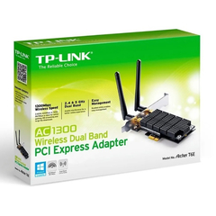 Imagen de Placa De Red Tp Link Archer T6e Pci Express Dual Band Ac1300