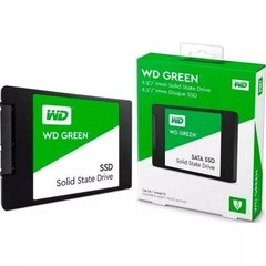Disco Solido Ssd 480gb Wd Western Digital Green 2,5 Sata 3