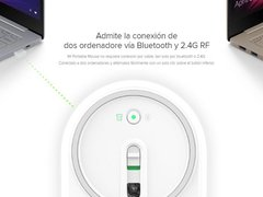 Mouse Laser Xiaomi Mi Portable Bluetooth + Rf 2.4ghz Win/mac - tienda online