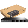 Switch Tp Link Sg2424p Administrable 24 Puertos Poe + 4 Sfp