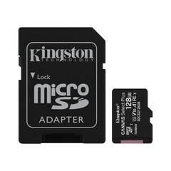 Memoria Micro Sd Kingston 128 Gb 100 Mbps Clase 10 Android - comprar online